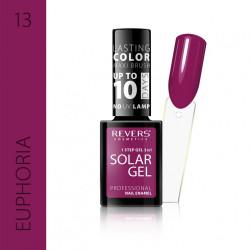 REVERS SOLAR GEL lakier solarny Efekt lakieru hybrydowego 10DNI TRWAŁOŚCI 03 CANDIED PEACH