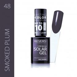 REVERS SOLAR GEL lakier solarny Efekt lakieru hybrydowego 10DNI TRWAŁOŚCI 48