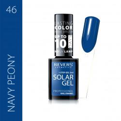 REVERS SOLAR GEL lakier solarny Efekt lakieru hybrydowego 10DNI TRWAŁOŚCI 46