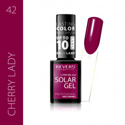 REVERS SOLAR GEL lakier solarny Efekt lakieru hybrydowego 10DNI TRWAŁOŚCI 42