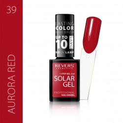 REVERS SOLAR GEL lakier solarny Efekt lakieru hybrydowego 10DNI TRWAŁOŚCI 39