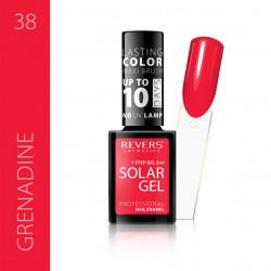 REVERS SOLAR GEL lakier solarny Efekt lakieru hybrydowego 10DNI TRWAŁOŚCI 38