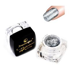 Glitter PLATINUM BROKATOWY Żel LAKIER hybrydowy BJJ-02