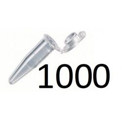 FIOLKA Probówka Eppendorf 1,5ml z podziałka 100 sztuk